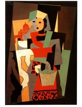 picasso32L-Italienne-c-1917-Posters